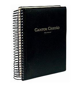 Cantor Cristão Musical - Capa Espiral Preta