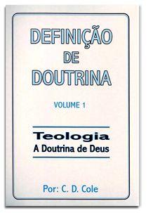 Definição De Doutrina - Volume 1 (Espiral)