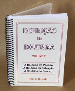 Definição De Doutrina - Volume 2 (Espiral)