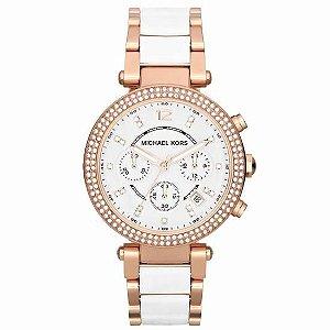 Relógio Michael Kors  White Rose MK5774