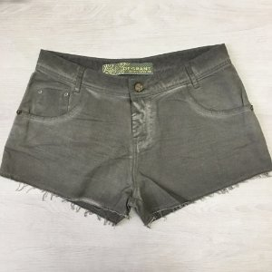 Short Jeans Verde Militar Degrant