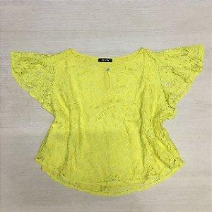 Blusa De Renda Amarela