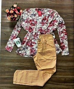 Blusa Flower Renda