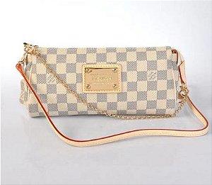 Bolsa Louis Vuitton Damier Azur Eva Clutch