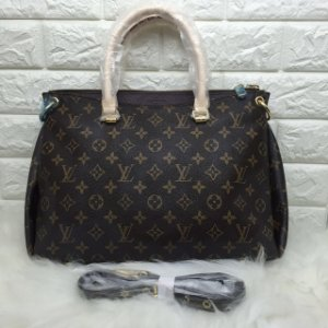 Bolsa Louis Vuitton Monogram Canvas Pallas Black