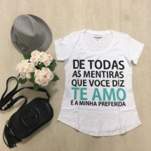 T Shirt Preferida Trama Jeans