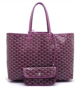 Bolsa Goyard St. Louis Purpple