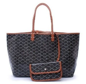 Bolsa Goyard St. Louis Black/Brown