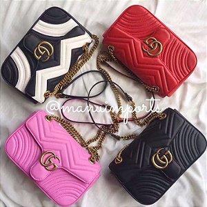 Bolsa Gucci Marmont Fivela M