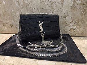 Bolsa Yves Saint Laurent Cassandre Croco