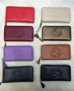 Carteira Gucci Colors Zíper