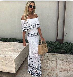 Vestido Longo White M.a