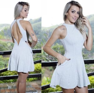 Vestido Miss & Misses Neoprene