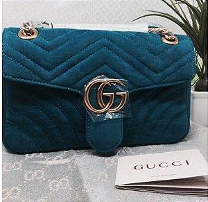Bolsa Gucci Marmont Camurça M