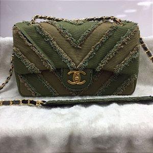 Bolsa Green Chanel Média