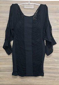 Vestido Com Bojo Black