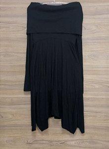 Vestido Gola Alta Black