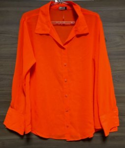 Camisa Laranja Neon Talgui