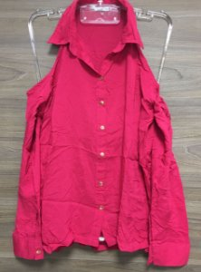 Camisa Ombro Vazado Pink