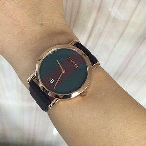 Relógio Gucci Couro