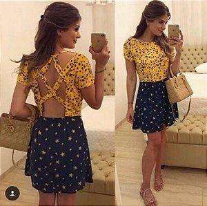 Vestido Estrela Ariane Canovas M.a