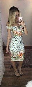 Vestido Mimo Neoprene Midi Closet