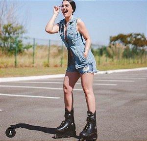 Colete Jeans Destroyed Bebella