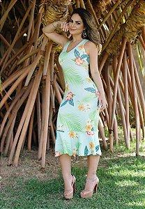 Vestido Neoprene Midi Renata M.a