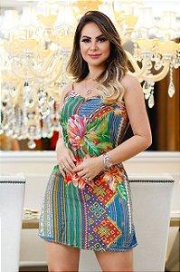 Vestido Estampado Marcia M.A