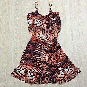 Vestido Paty Animal Print