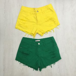 Shorts Jeans Color Paty