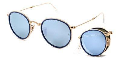 Óculos Ray-Ban Round Dobrável Original