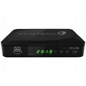 Conversor e Gravador Digital Ekotech ZBT-670N