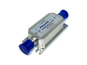 Amplificador de Linha Satélite 20dB Phenom