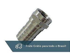 Conector de Grimpar para Cabo RG6 - Frete Grátis