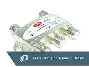 Chave Comutadora Diseqc 4 X 1 GCN - Frete Grátis