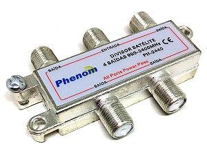 Divisor Phenom Satélite 4 Saídas 950-2400 Mhz