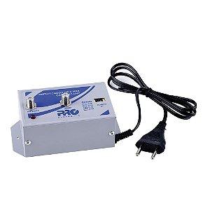 Amplificador de Linha TV Digital VHF/UHF 30 db Proeletronic