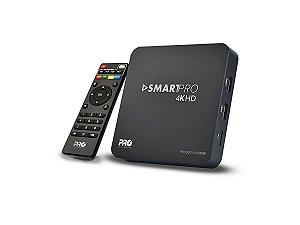 SmartBox WiFi 4k Para Recepção de Conteúdo Digital ProEletronic