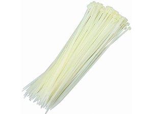 Abraçadeira de Nylon Branco 380 X 7,6 mm