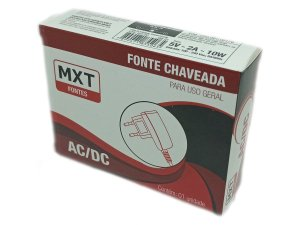 Fonte Chaveada MXT Para Uso Geral - 5V 2A - P4