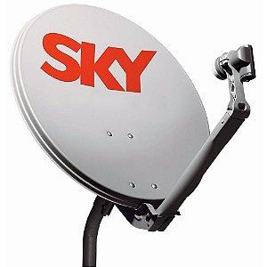 Antena Offset Banda Ku Sky de 90 Cm - Advansat