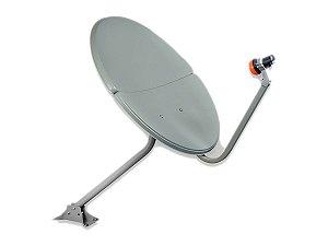 Antena Offset Banda Ku 60 Cm Bipartida - ImageVox
