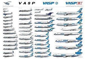 POSTER VASP - 86x59 cm