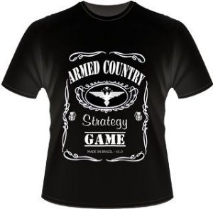 Camiseta Armed Country - Strategy Game