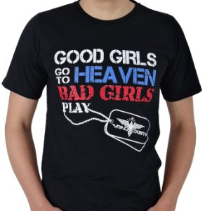 Camiseta Armed Country - Bad Girls