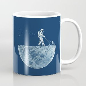Caneca Astronauta Solitário
