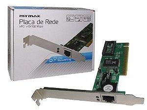 Placa de Rede 10/100 PCI Mymax