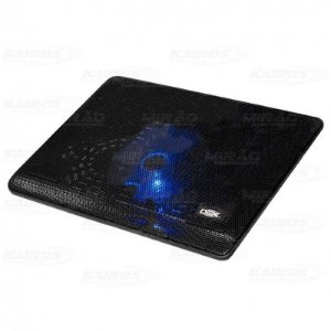 Base para Notebook Até 15.6 Polegadas Preto Com Cooler e Led Dex - Dx-001