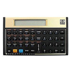 Calculadora Financeira HP 12C Dourada